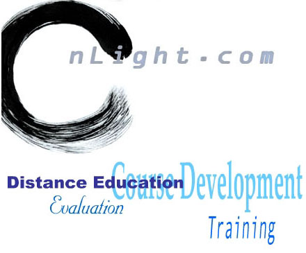 nLight.com for eLearning and Distance Education - Courseware developement, Assement, Evaluation, Web design, and database integration.